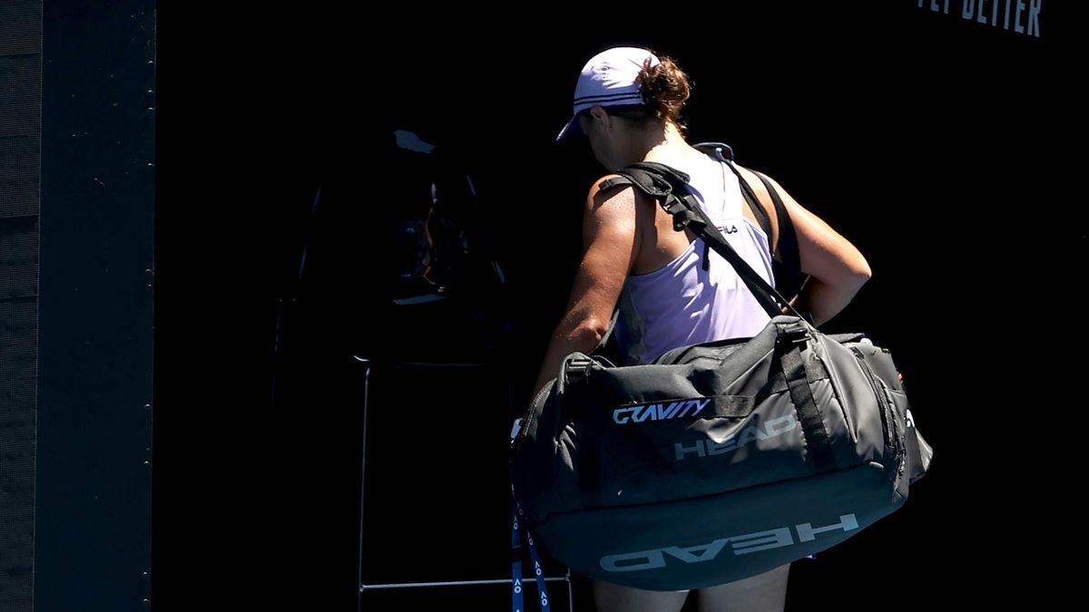 Aus im Viertelfinale der Australian Open: Ashleigh Barty