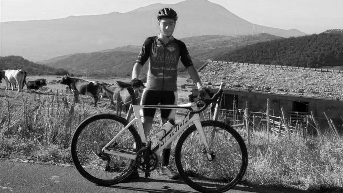 Giuseppe Milone, morto in un tragico incidente durante un allenamento - credit facebook