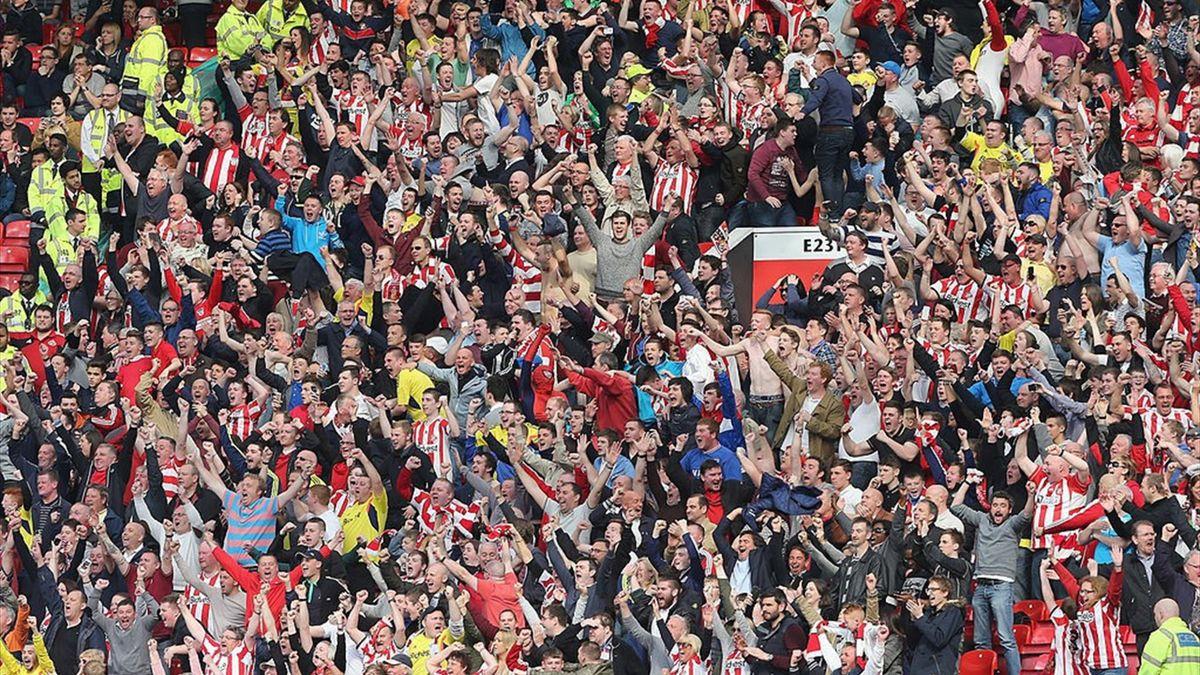 Suporterii lui Sunderland