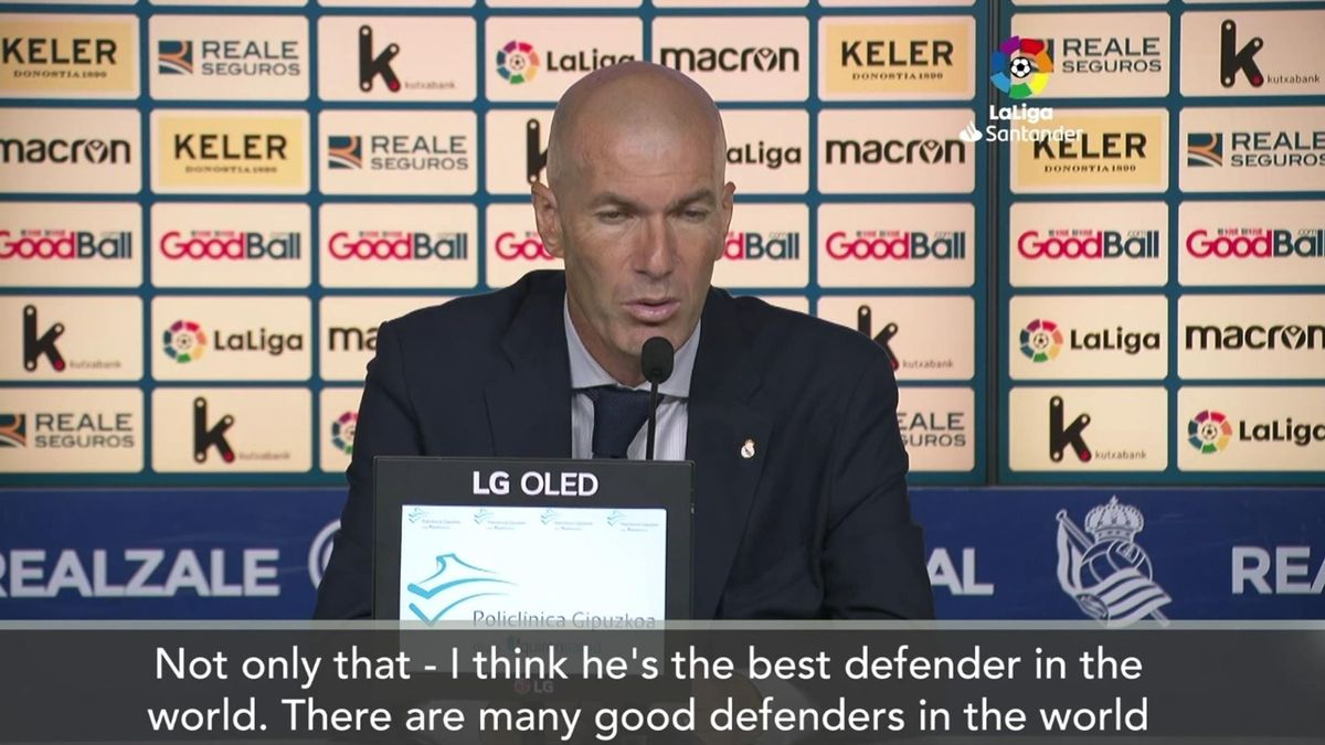 'The best defender in the world' - Zidane on Sergio Ramos after breaking La Liga record