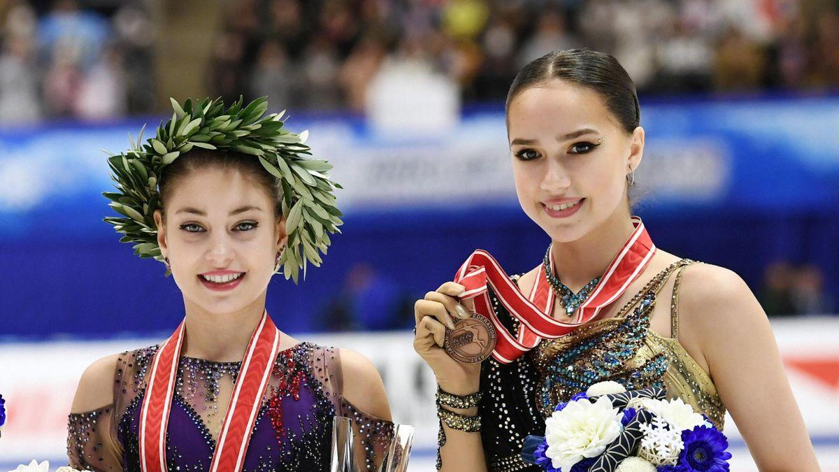 Алена Косторная и Алина Загитова