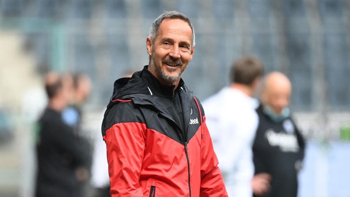 Adi Hütter wechselt zur kommenden Saison von Eintracht Frankfurt zu Borussia Mönchengladbach