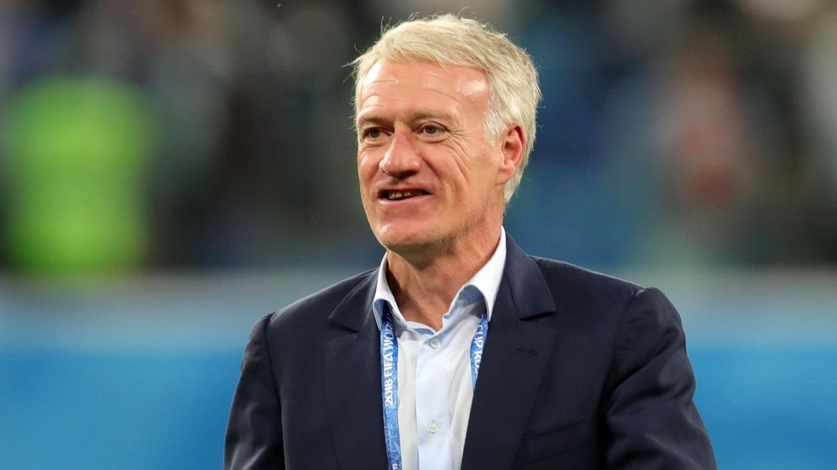 Didier Deschamps is on track to lift the World Cup as a player and manager