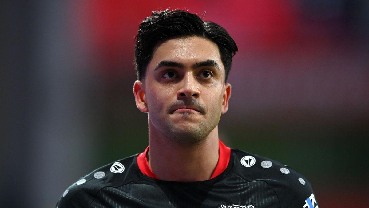 Nadiem Amiri von Bayer 04 Leverkusen wurde positiv auf das Coronavirus getestet