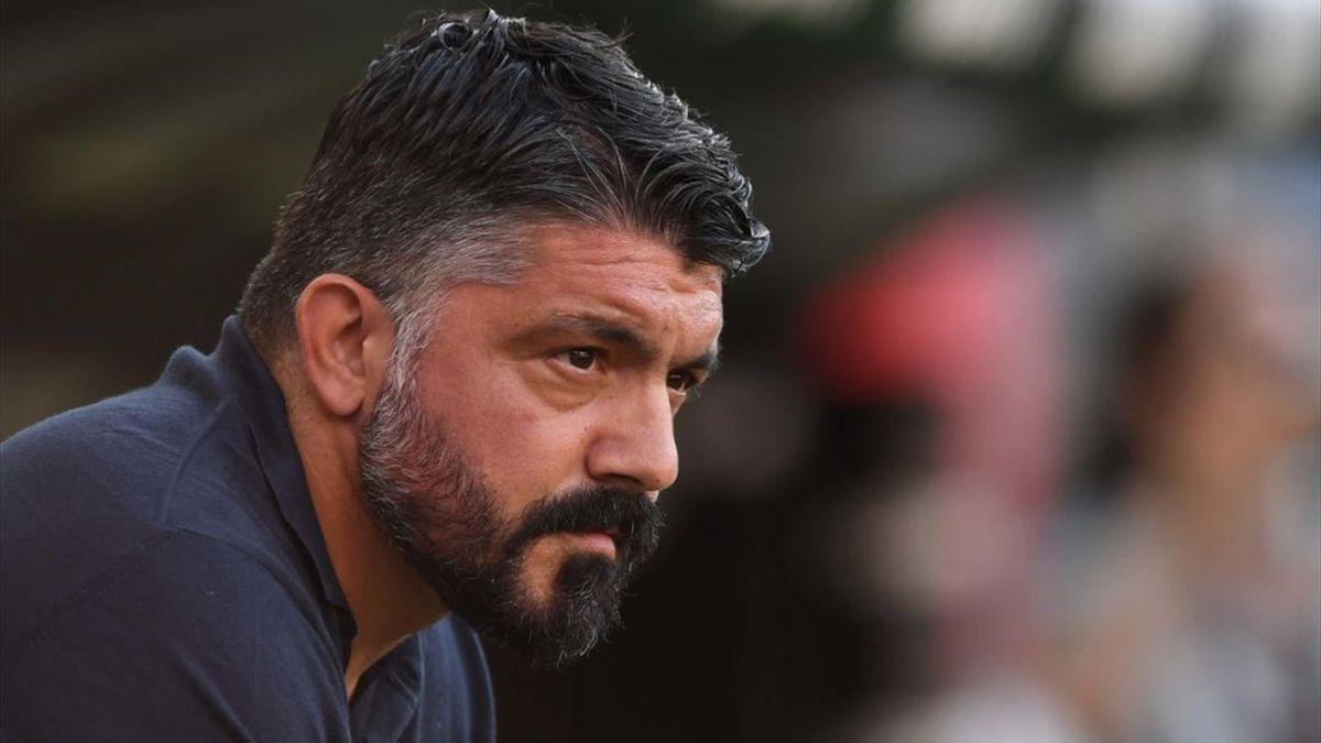 Gennaro Gattuso - Genoa-Napoli - Serie A 2019-2020