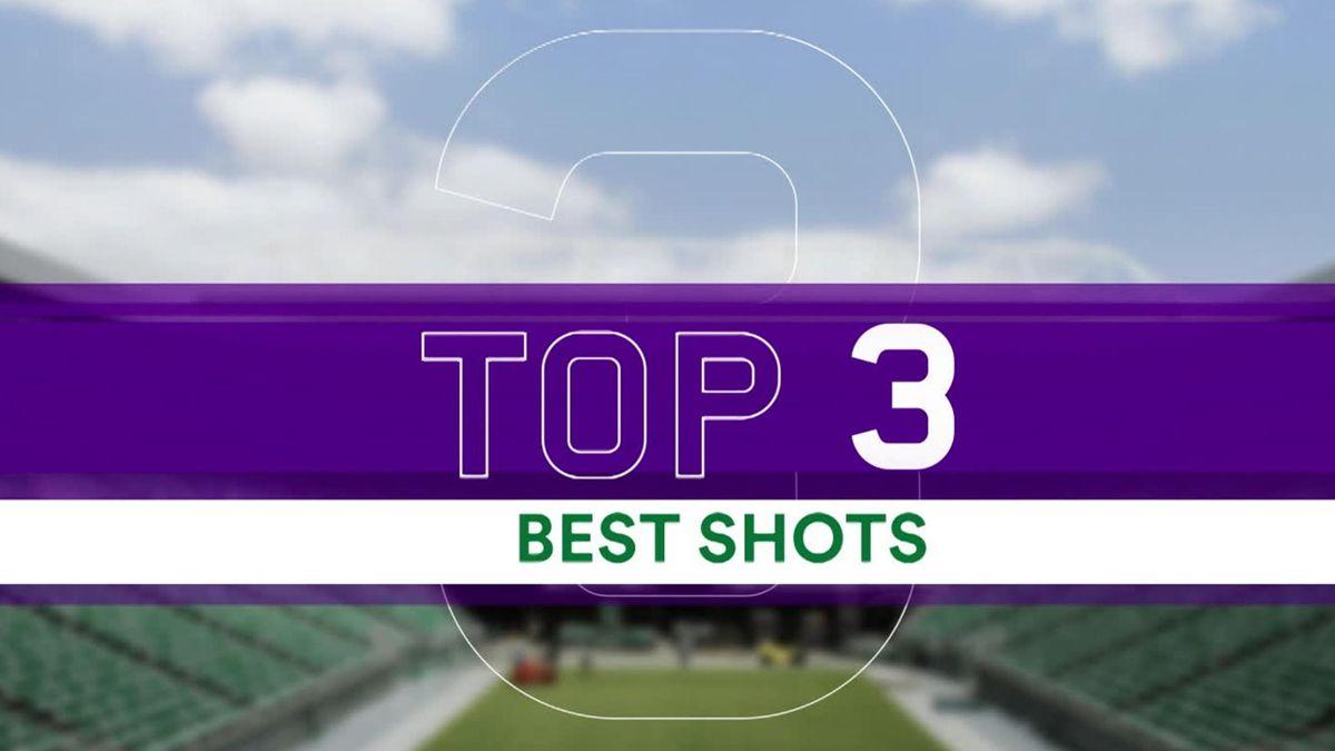 Wimbledon - Top 3 best shots - Day 6