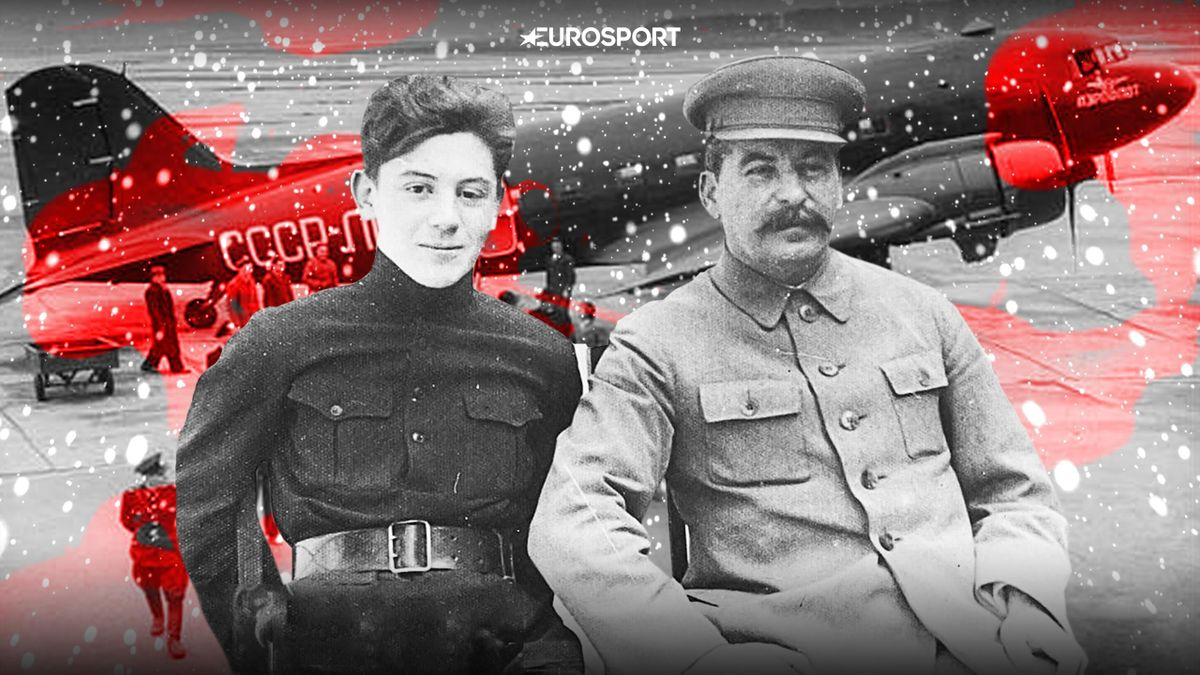 Иосиф и Василий Сталины