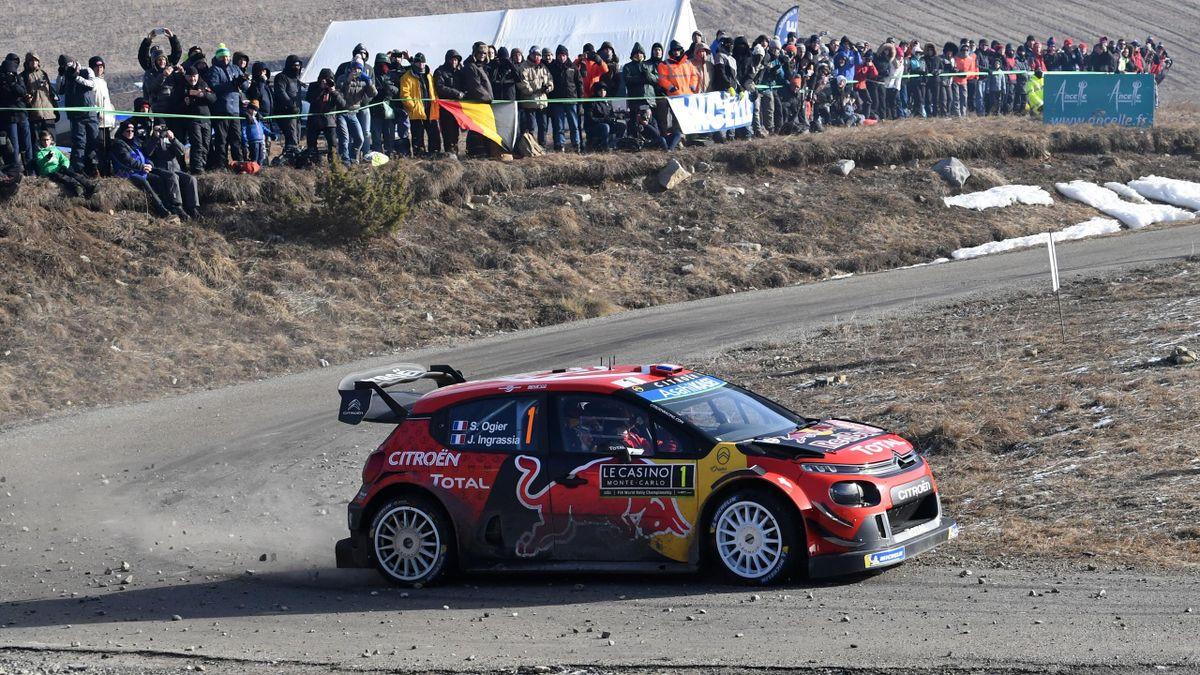 Sébastien Ogier (Rallye du Monte-Carlo 2019)