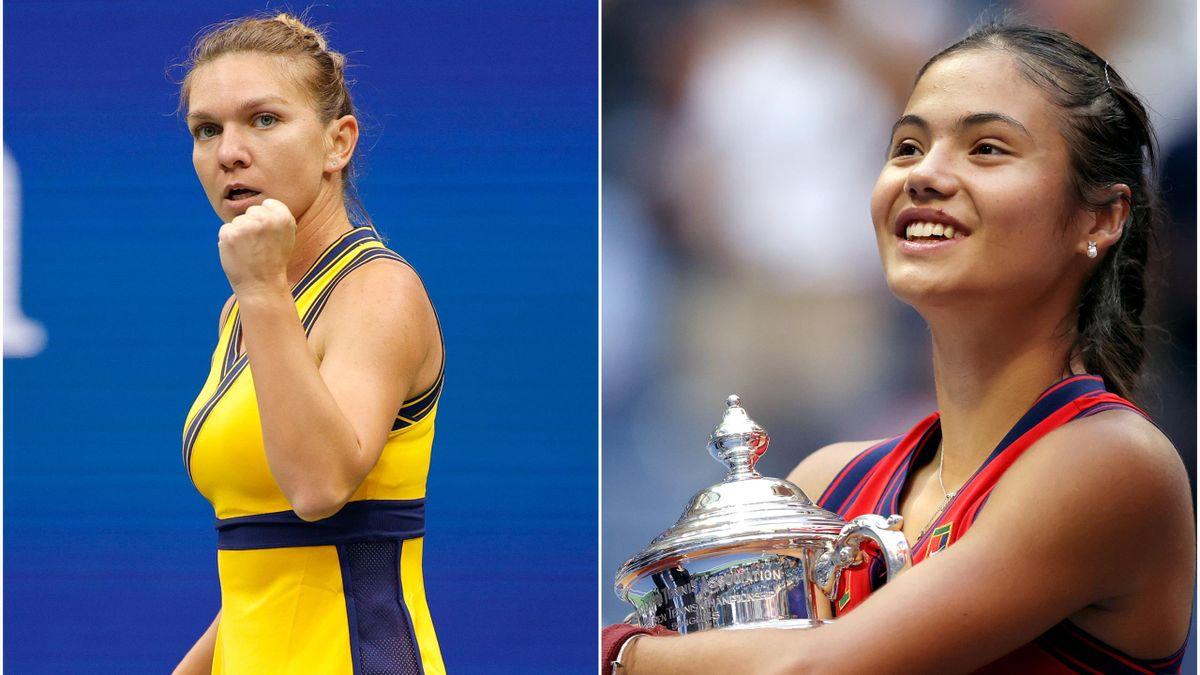 Simona Halep & Emma Răducanu