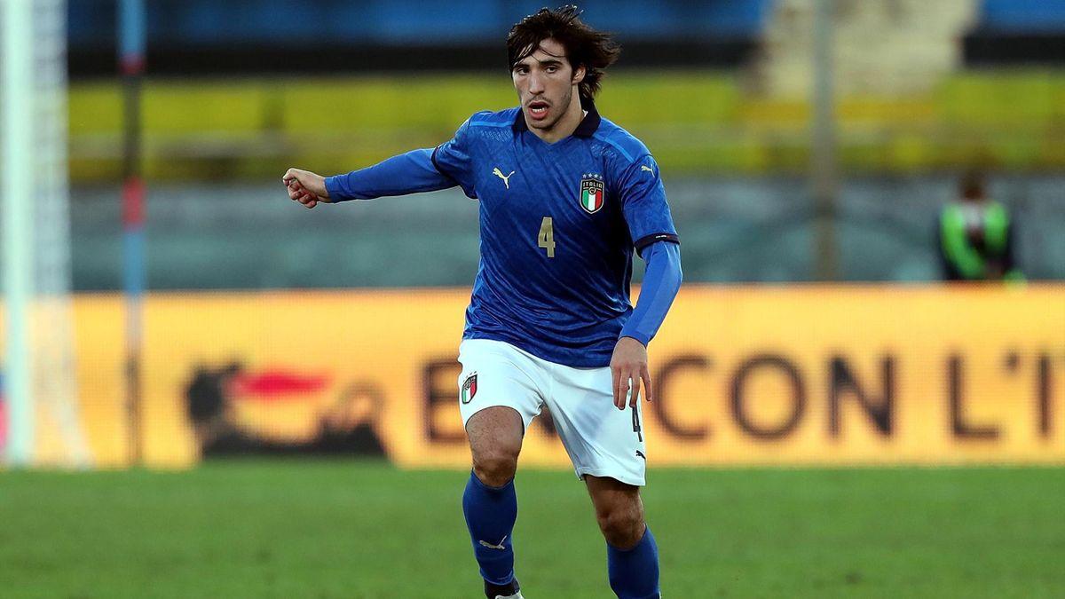 Sandro Tonali, nazionale under21