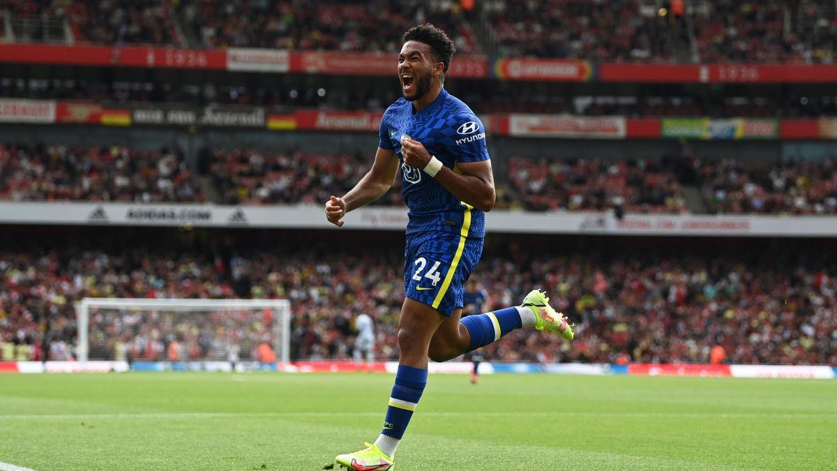 Reece James a reușit un gol și o pasă de gol pentru Chelsea