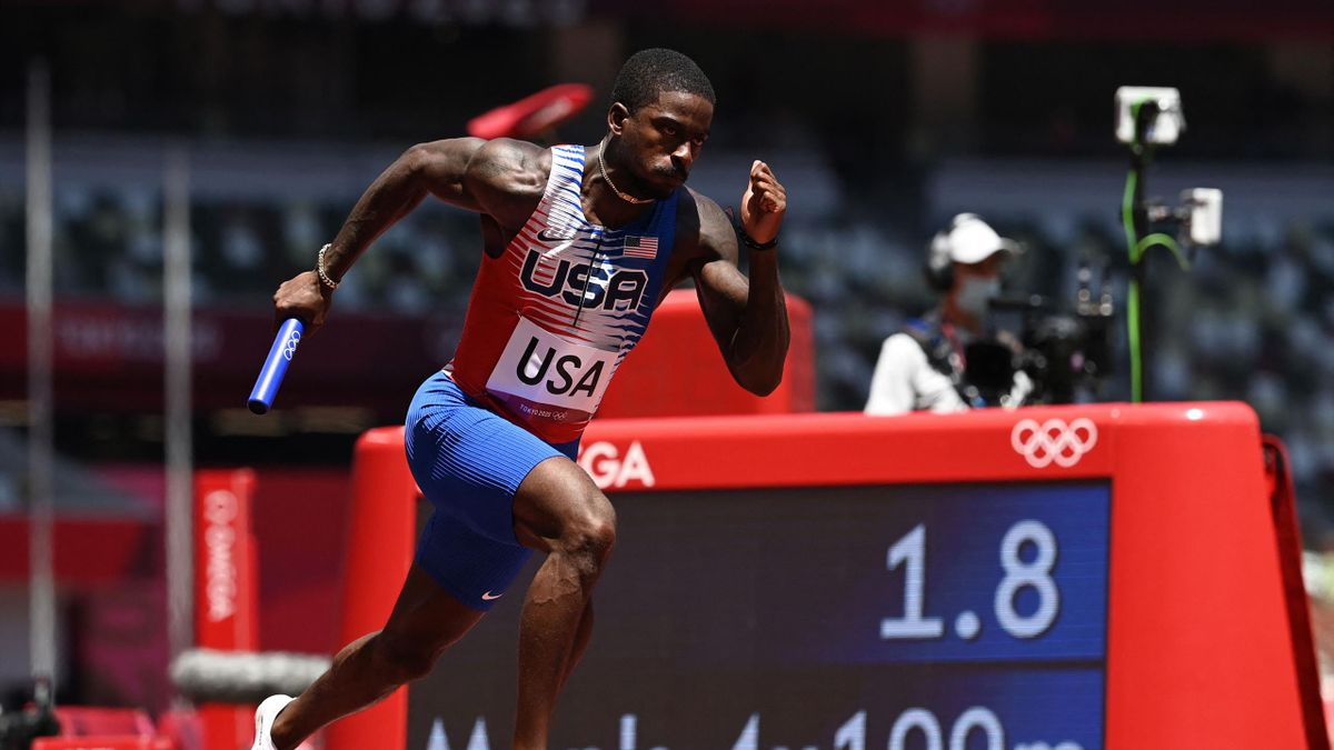 'Horrible exchange. They are going backwards!' - Major shock as USA miss out on men's 4x100m final