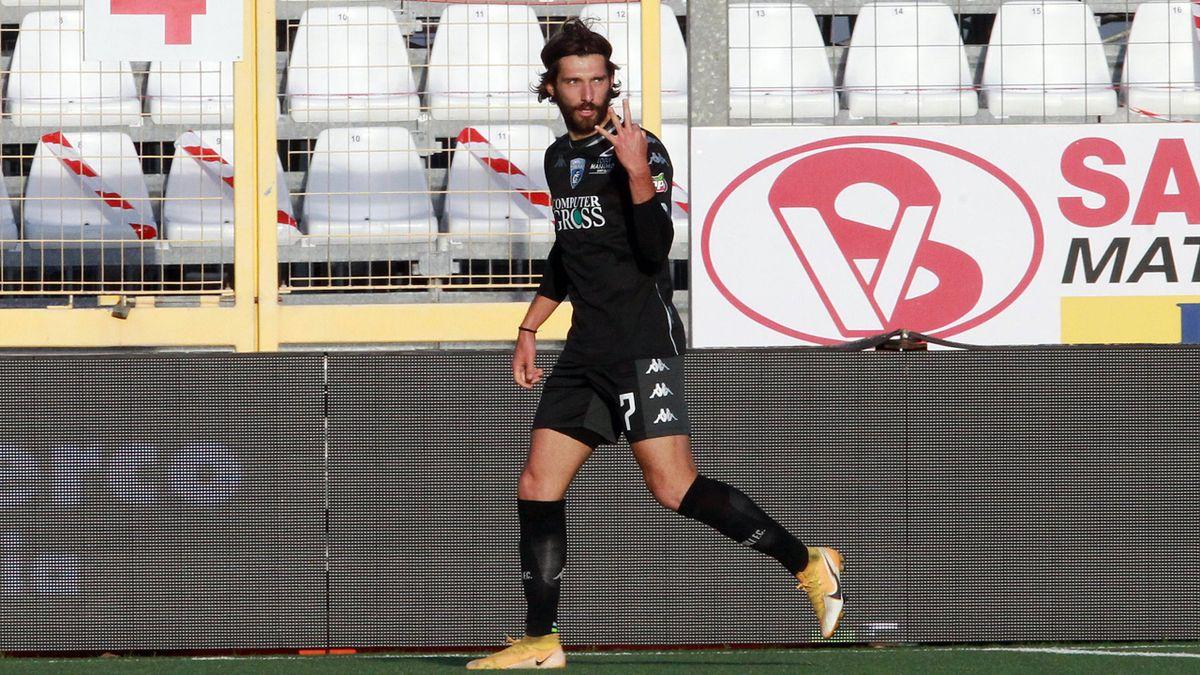 Leonardo Mancuso segna 4 gol in 14 minuti e 32 secondi in Entella-Empoli: è record per la Serie B