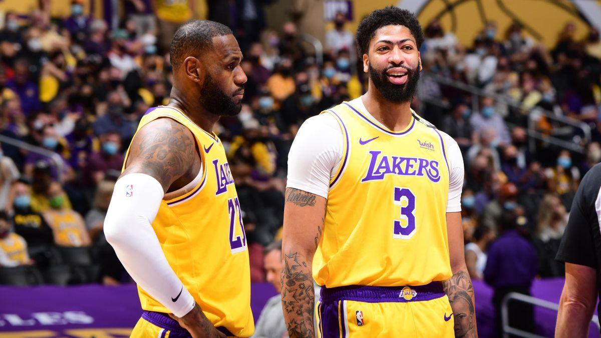 LeBron James y Anthony Davis (Los Ángeles Lakers)
