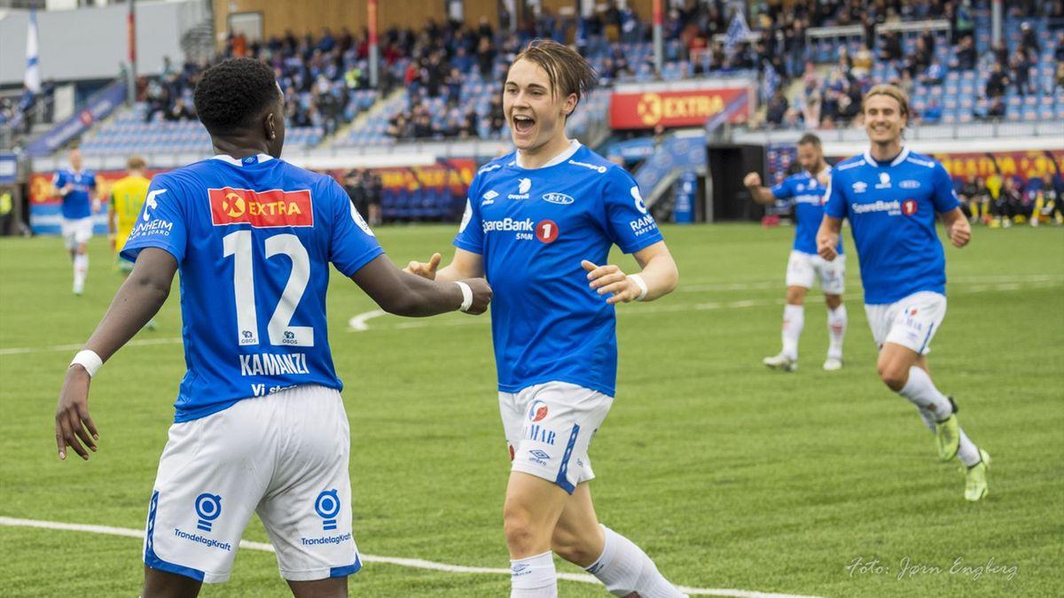 Elias Hoff Melkersen. Foto: Jørn Engberg / Ranheimfotball.no