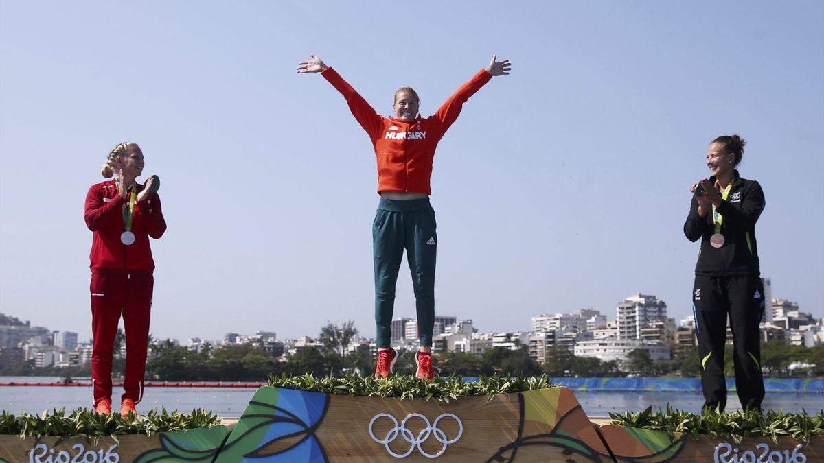 Dunata Kozak wins third gold at Rio Olympics Canoe Sprint