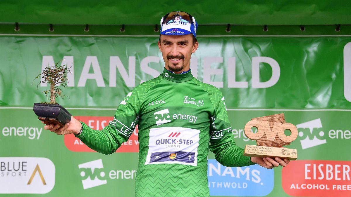 Julian Alaphilippe, vainqueur du Tour de Grande-Bretagne - 2018