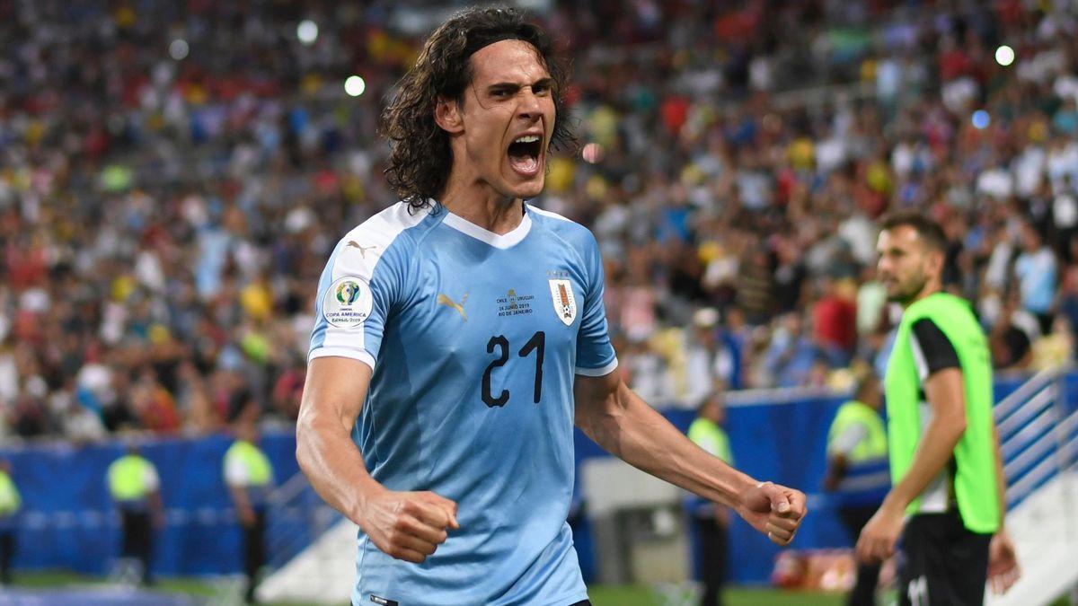 Cavani - Cile-Uruguay - Copa America 2019 - Getty Images