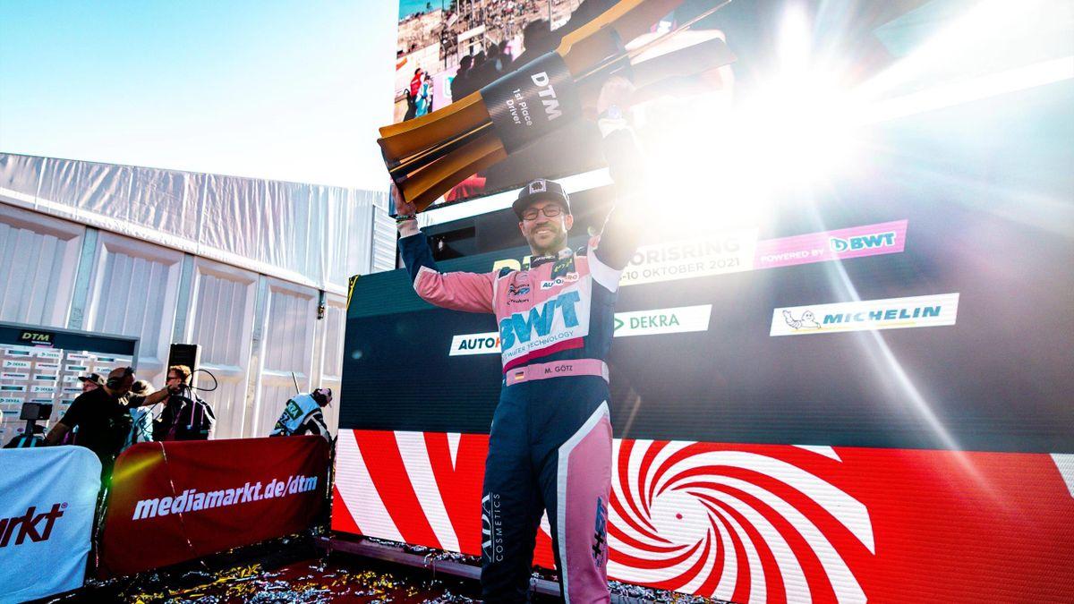 Maximilian Götz gewinnt den DTM-Titel