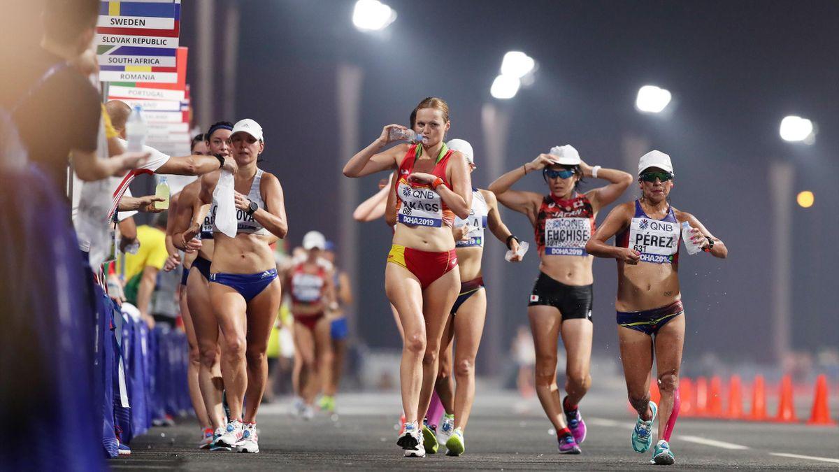 Júlia Takács (España). Mundiales de Atletismo 2019
