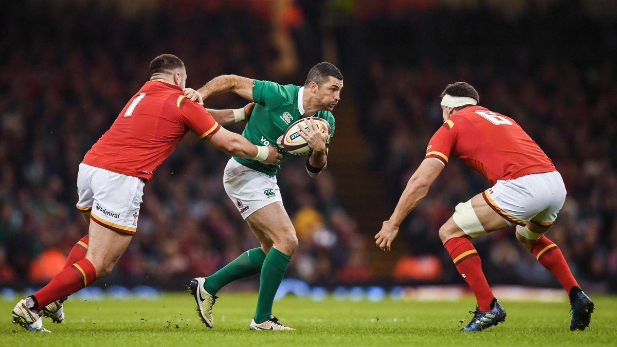 Rob Kearney (Ireland) vs Wales