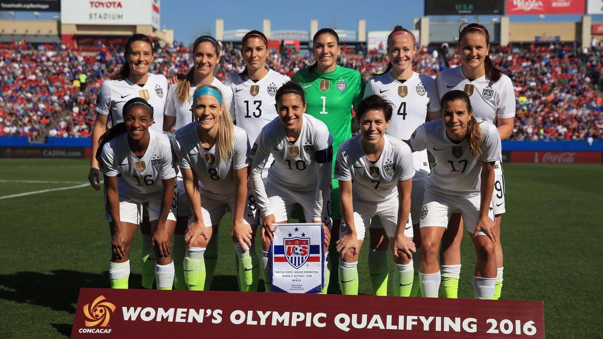Frauenfußball: Die USA qualifizieren sich für Olympia