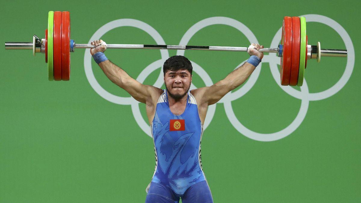 Izzat Artykov of Kyrgyzstan