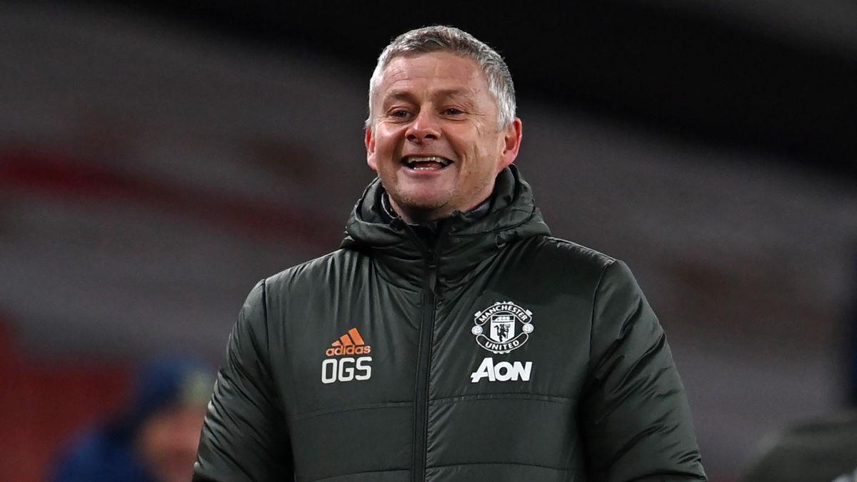 Manchester Unitd manager Ole Gunnar Solskjaer