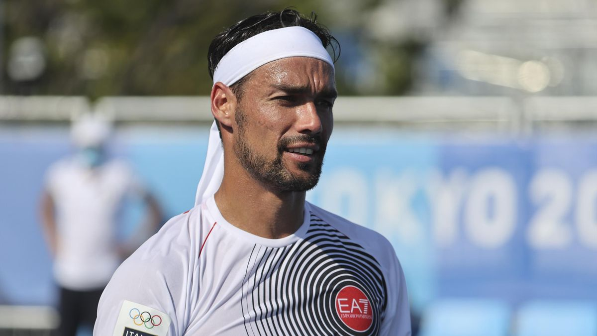 Fabio Fognini has apologised for using a homophobic slur at the Olympics