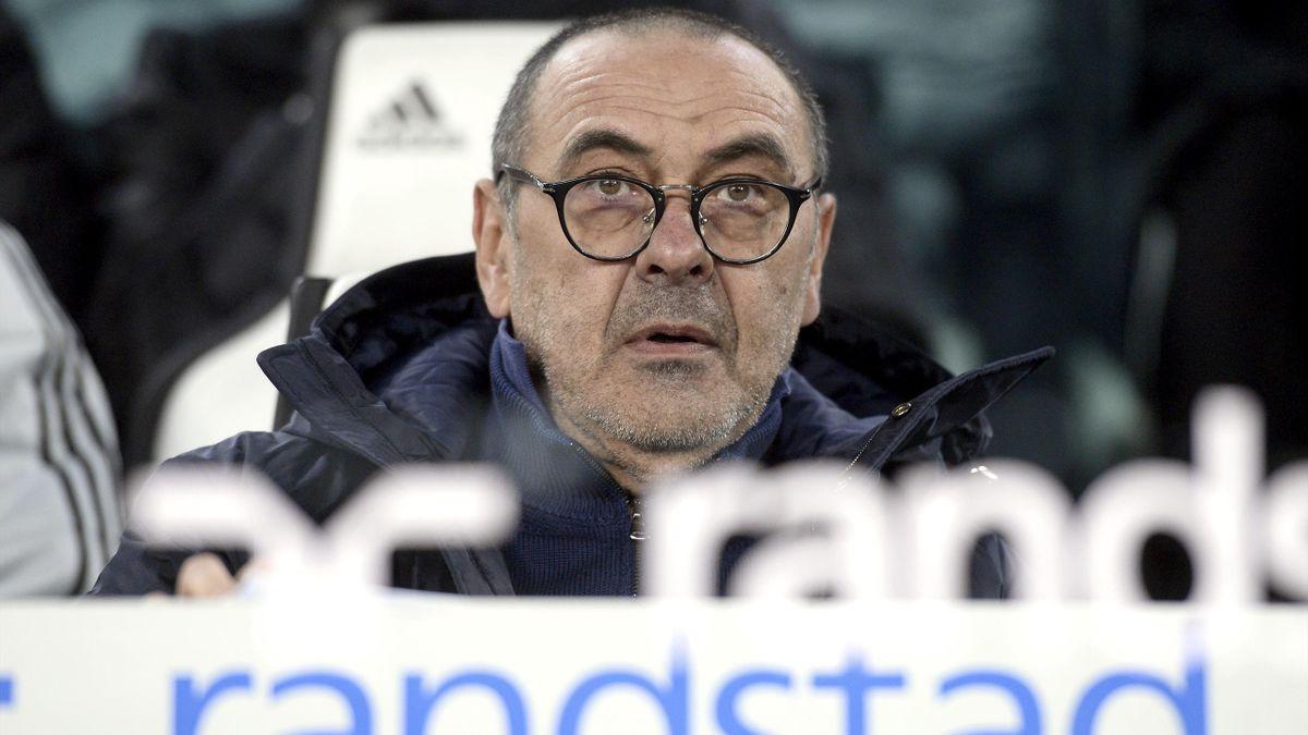 Maurizio Sarri - Juventus-Udinese - Coppa Italia 2019/2020 - Getty Images