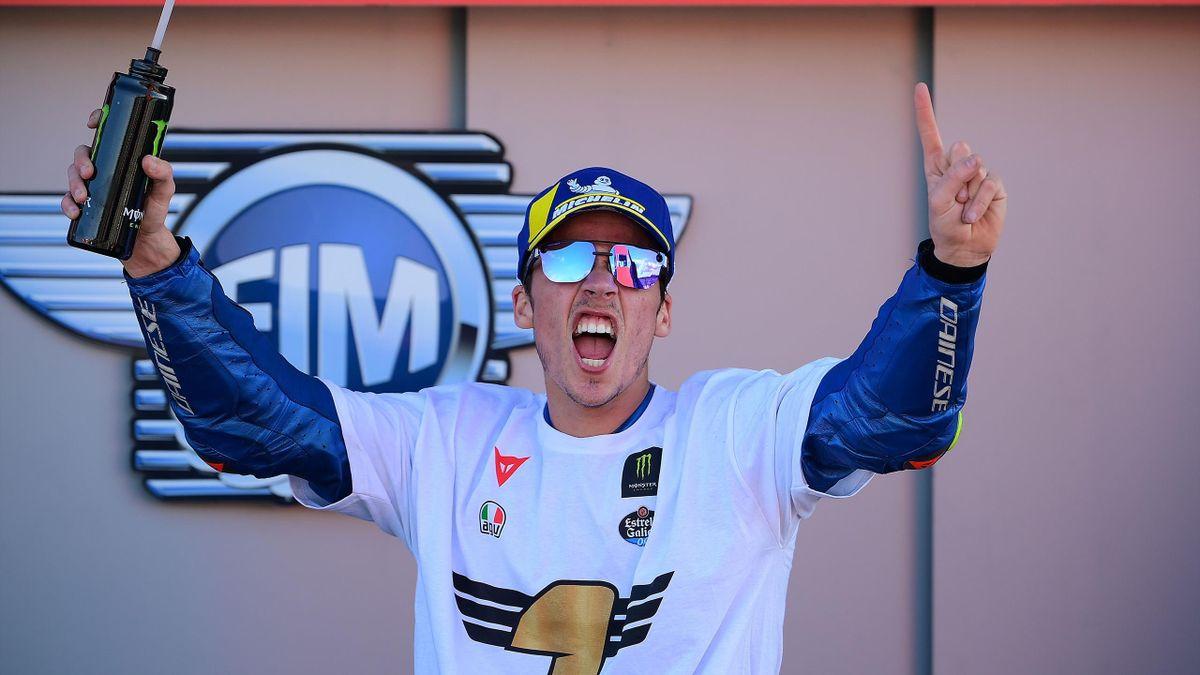 Joan Mir si gode il titolo mondiale in MotoGP a 23 anni, Getty Images