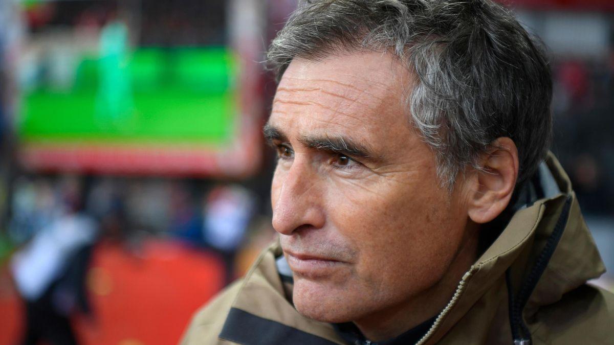 Olivier Dall'Oglio est l'entraineur de Brest