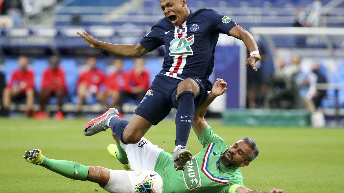 Kylian Mbappe ratează duelul de foc cu Atalanta din Champions League