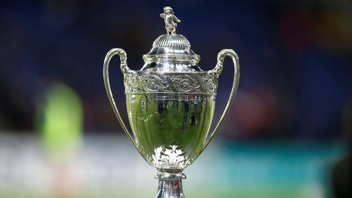 Le trophée de la Coupe de France - 2018