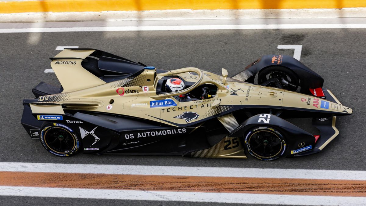 25 VERGNE Jean Eric (fra), DS Techeetah, action during the ABB Formula E Championshop official pre-season test of season six at Circuit Ricardo Tormo in Valencia on October 15, 16, 17 and 18 of 2019