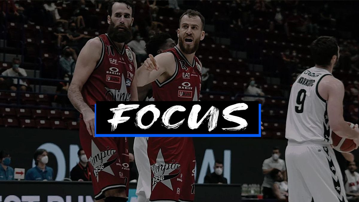 Sergio Rodriguez e Gigi Datome, AX Armani Exchange Milano-Virtus Segafredo Bologna, Serie A 2020-21