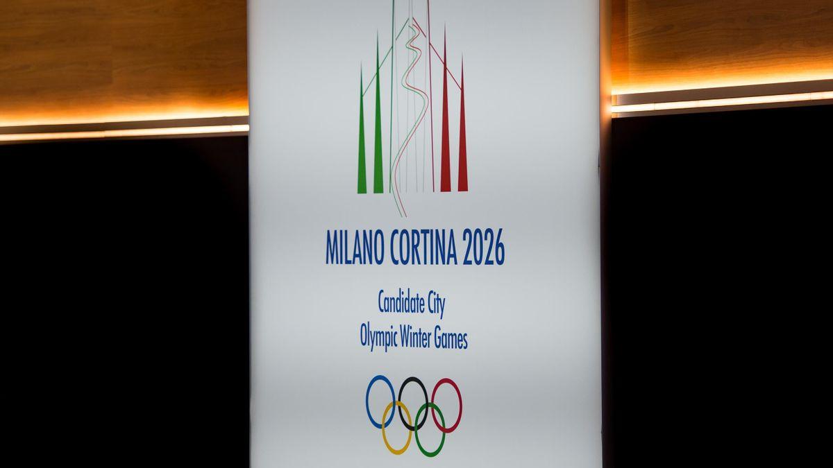 Logo of Milano Cortina 2026