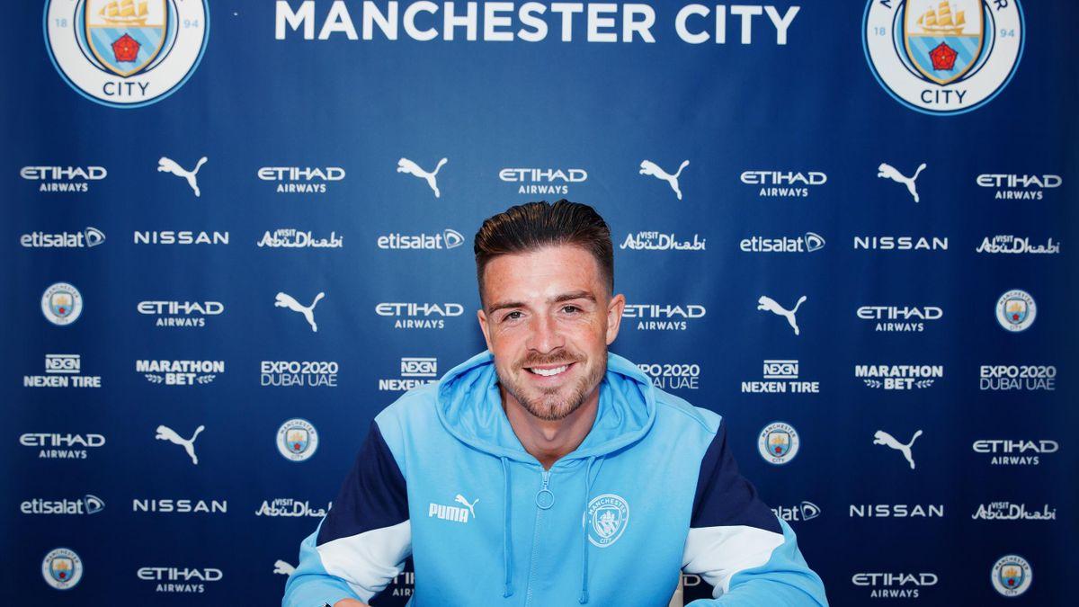 Jack Grealish a semnat cu Manchester City