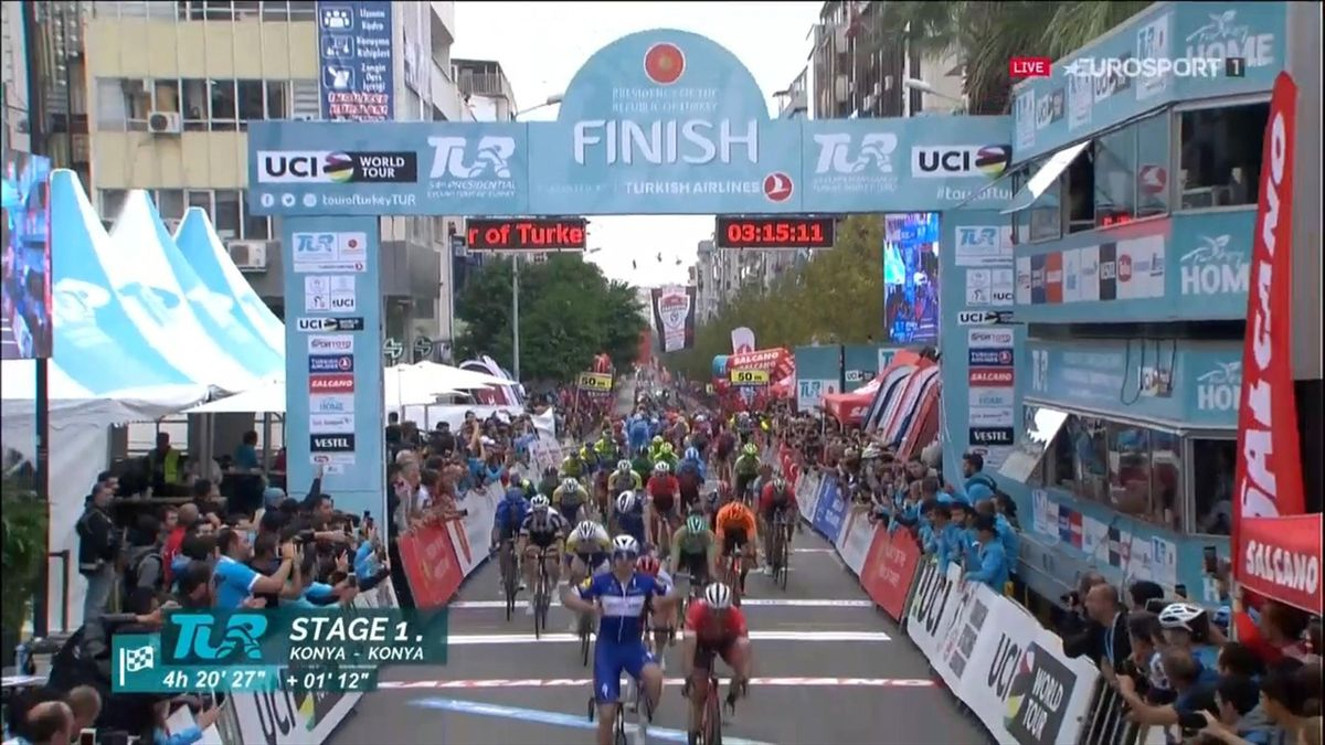 Alvaro Hodeg (Quick-Step) wint vijfde etappe Ronde van Turkije