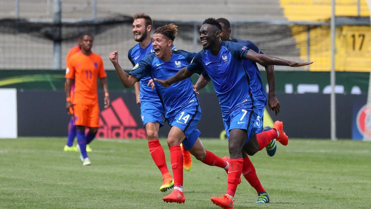 L'équipe de France à l'Euro U19