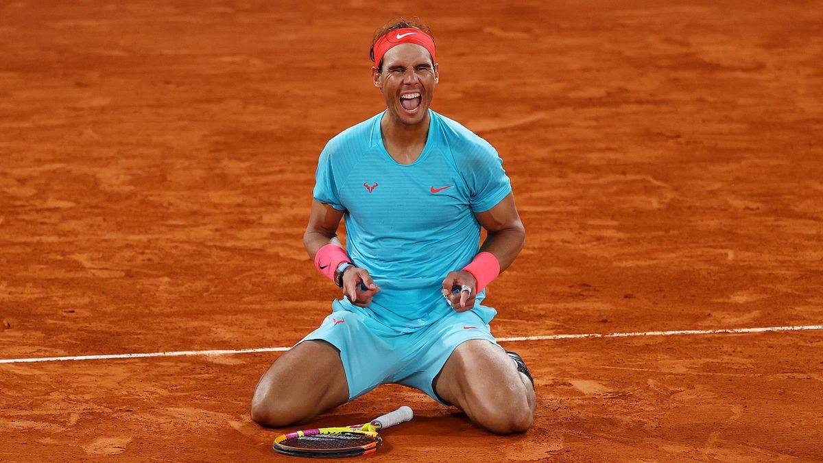 Rafael Nadal, à genoux, remporte son 13e Roland-Garros