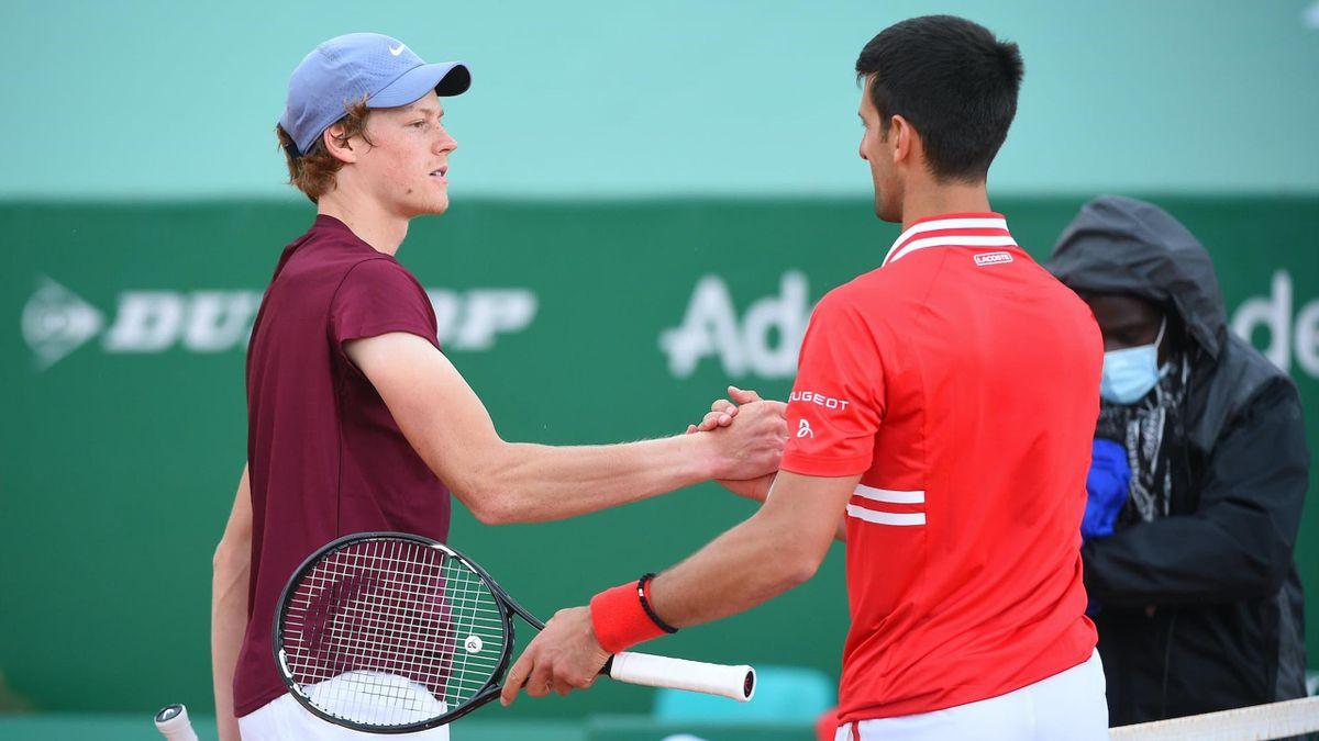 Jannik Sinner & Novak Djokovic