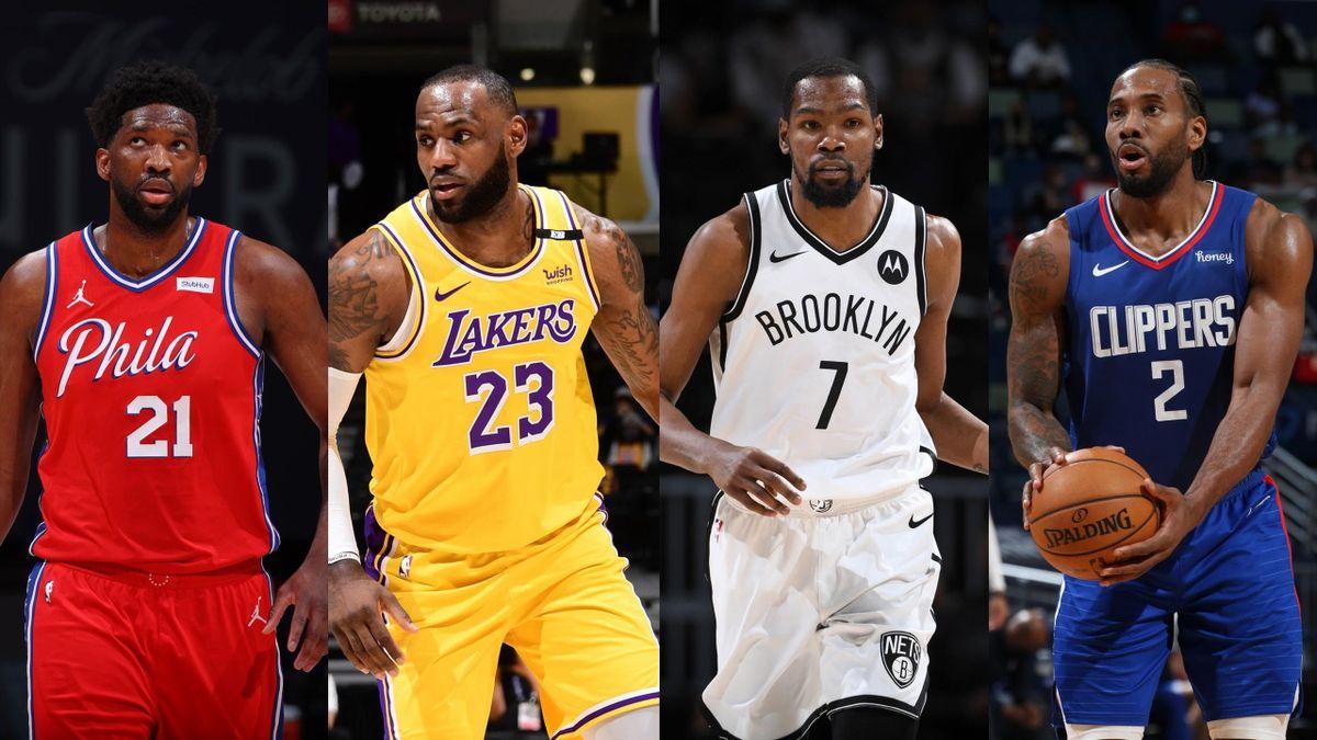 NBA Playoffs 2020-21 Preview: Embiid, James, Durant, Leonard