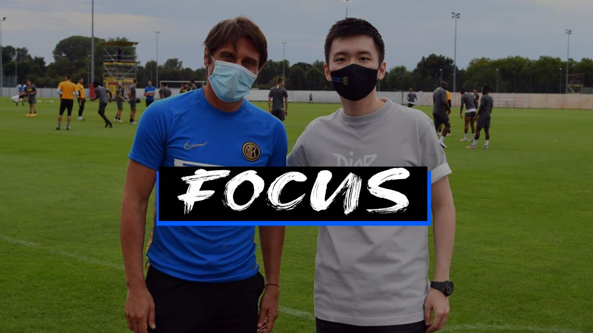 Antonio Conte e Steven Zhang - Inter - Serie A 2020/21
