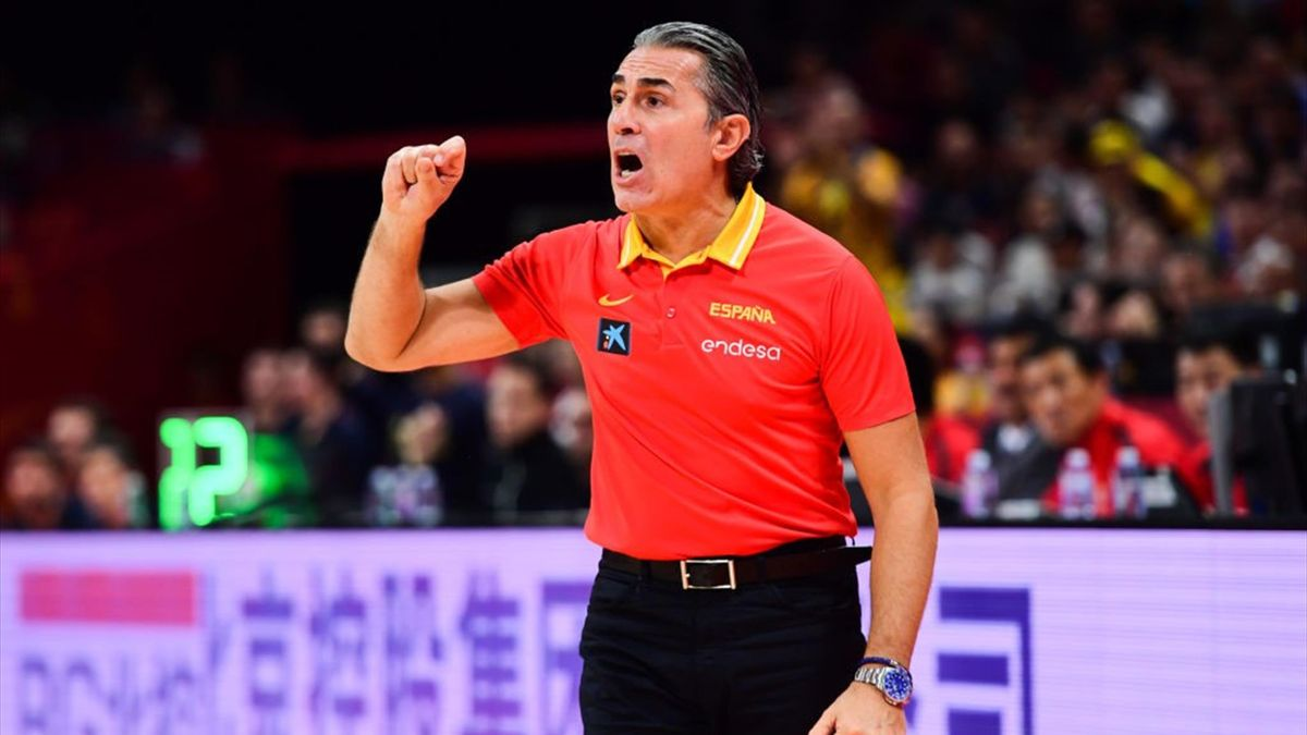 Sergio Scariolo, ct della Spagna alla FIBA World Cup 2019