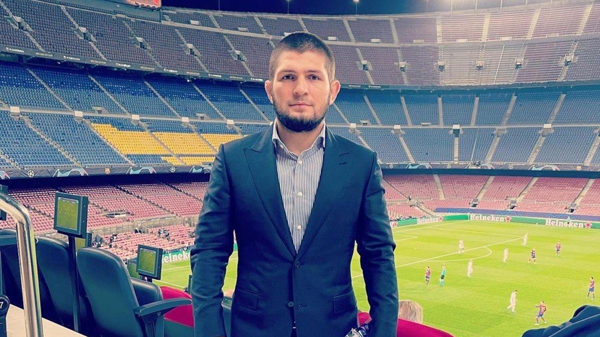 Хабиб Нурмагомедов, стадион «Камп Ноу», Барселона