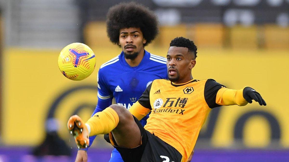 Wolverhampton Wanderers' Portuguese defender Nelson Semedo