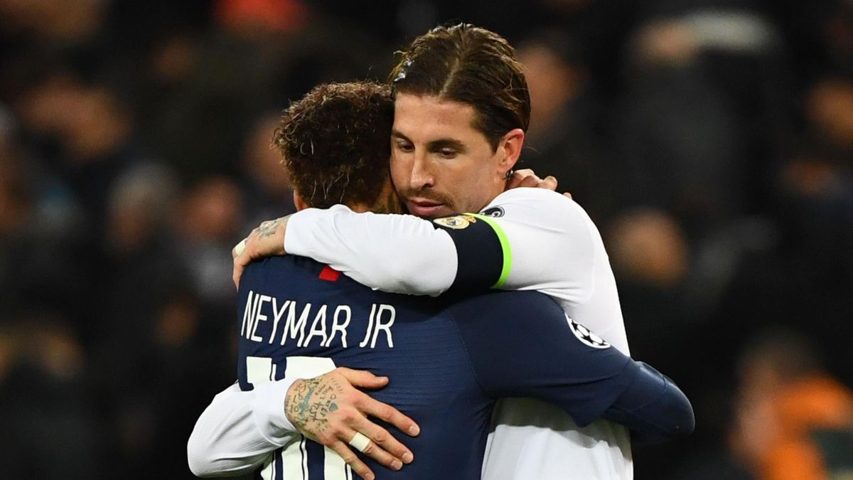 Sergio Ramos et neymar, bientôt futurs coéquipiers au PSG ?