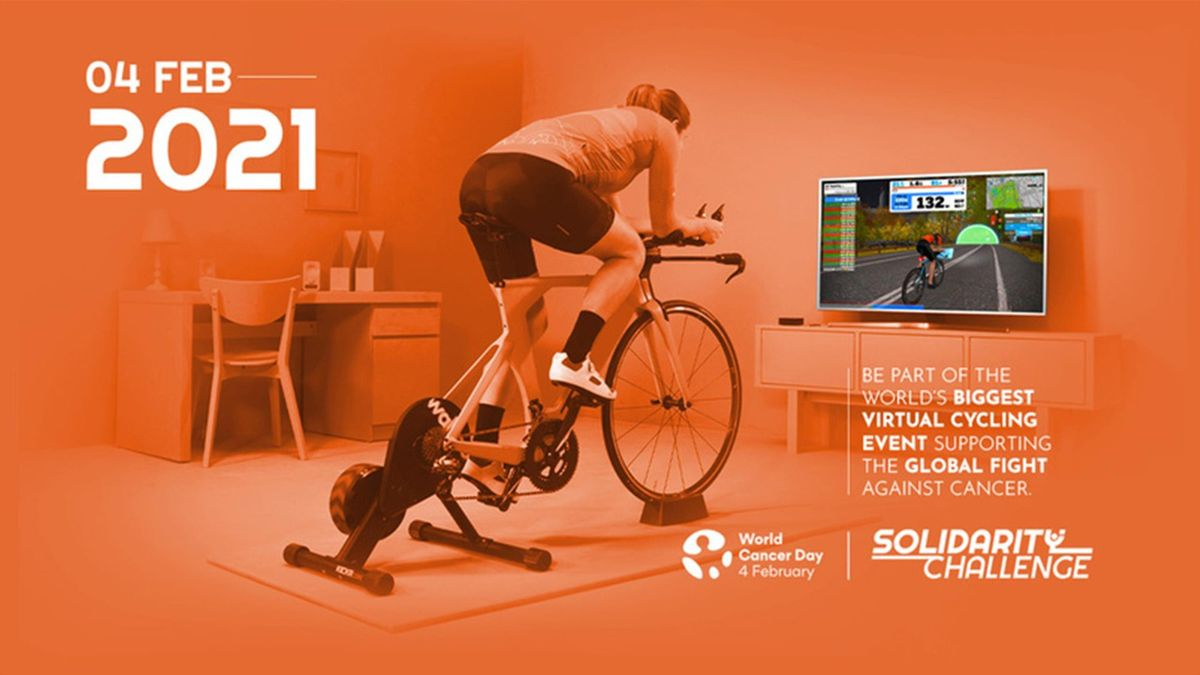 Solidarity Challenge: partecipa il 4 febbraio alla pedalata per la lotta al cancro