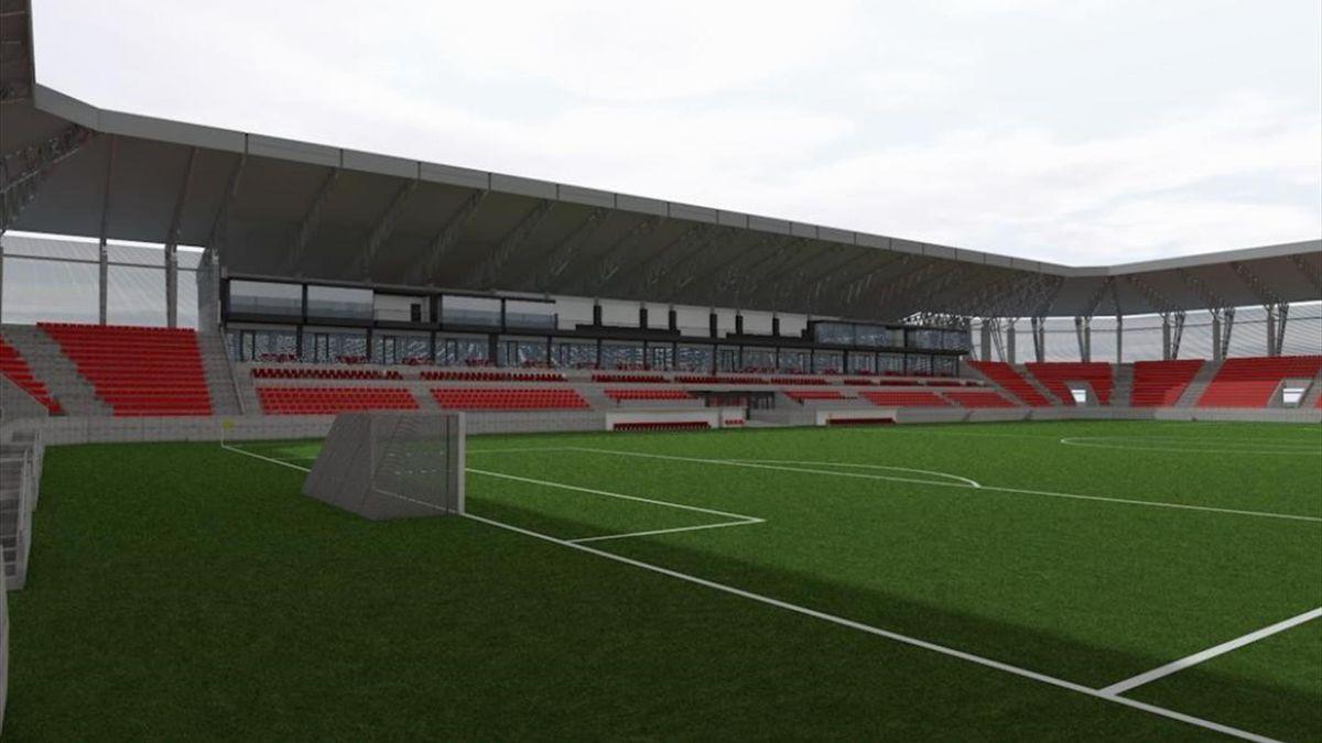 Stadionul lui Sepsi va fi gata în primăvara lui 2021